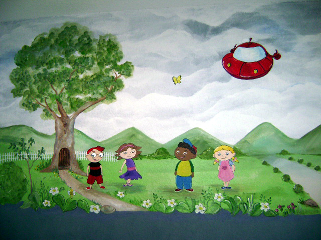 Little Einsteins Mural