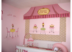 Sweet Shop Nursery Murals