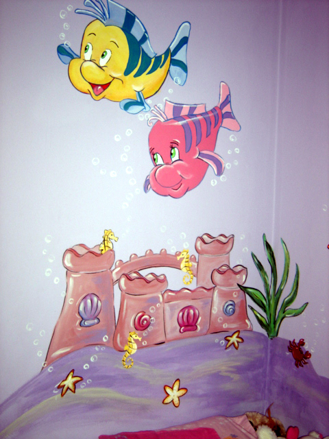 Under the Sea - Mural