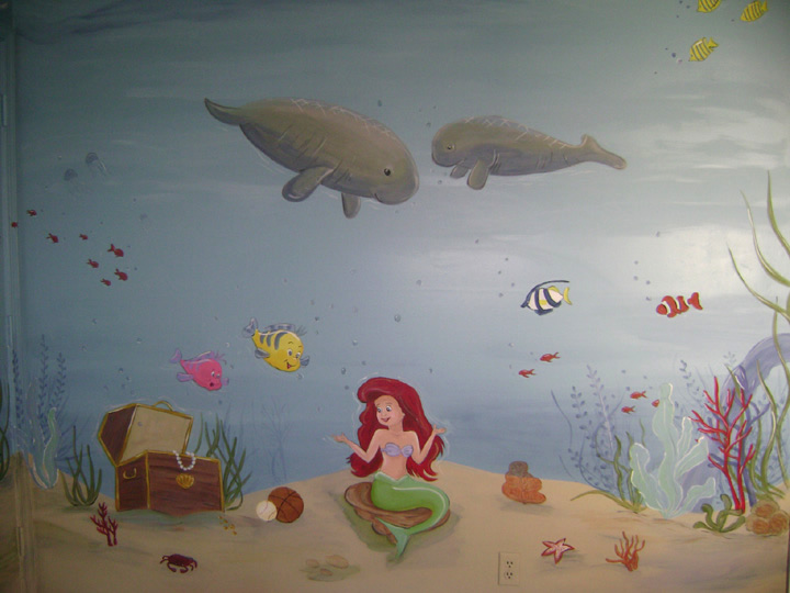 Tropical Reef Mural